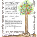 Joy and Happiness Ketubah